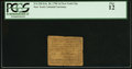Colonial Notes:New York, New York- New York City February 20, 1790 1d PCGS Fine 12.. ...