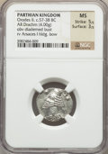 Ancients:Oriental, Ancients: Orodes II (57-38 BC). AR drachm (4.00 gm)....
