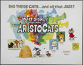 """Movie Posters:Animated, The Aristocats (Buena Vista, R-1980). Half Sheet (22"""" X 28""""). Animated Musical. Directed by Milt Kahl, John Lounsbery and Wo..."""