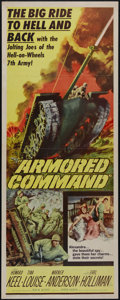 "Movie Posters:War, Armored Command (Allied Artists, 1961). Insert (14"" X 36""). War.Directed by Byron Haskin. Starring Howard Keel, Tina Louise..."