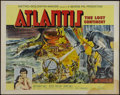 "Movie Posters:Adventure, Atlantis, the Lost Continent (MGM, 1961). Half Sheet (22"" X 28"").Adventure. Directed by George Pal. Starring Anthony Hall, ..."
