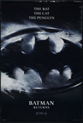 "Movie Posters:Fantasy, Batman Returns (Warner Brothers, 1992). One Sheet (27"" X 41"").Double Sided Advance. Action. Directed by Tim Burton. Starrin..."