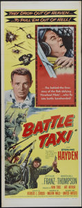 "Movie Posters:War, Battle Taxi (United Artists, 1955). Insert (14"" X 36""). War.Directed by Herbert L. Strock. Starring Sterling Hayden, Arthur..."