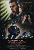"""Movie Posters:Science Fiction, Blade Runner (Warner Brothers, 1982). One Sheet (27"""" X 41""""). Sci-FiFilm Noir. Directed by Ridley Scott. Starring Harrison F..."""