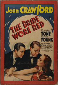 """The Bride Wore Red (MGM, 1937). One Sheet (25"""" X 39""""). Romantic Comedy. Directed by Dorothy Arzner. Starring J..."""