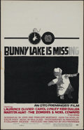 """Movie Posters:Mystery, Bunny Lake is Missing (Columbia, 1965). Window Card (14"""" X 22"""").Mystery. Directed by Otto Preminger. Starring Carol Lynley,..."""