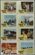 "Movie Posters:Adventure, Desert Hell (20th Century Fox, 1958). Lobby Card Set of 8 (11"" X14""). Action. Directed by Charles Marquis Warren. Starring ...(Total: 8 Items)"