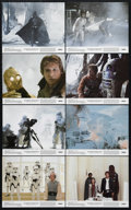 """Movie Posters:Science Fiction, The Empire Strikes Back (20th Century Fox, 1980). Mini Lobby CardSet of 8 (8"""" X 10""""). Science Fiction. Directed by Irvin Ke...(Total: 8 Items)"""