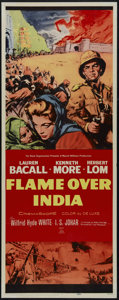 "Movie Posters:Adventure, Flame Over India (20th Century Fox, 1960). Insert (14"" X 36"").Adventure. Directed by J. Lee Thompson. Starring Kenneth Moor..."
