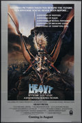 "Movie Posters:Animated, Heavy Metal (Columbia, 1981). One Sheet (27"" X 41""). Advance.Animated Sci-Fi Fantasy. Directed by Gerald Potterton. Starrin..."