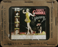 "Honey (Paramount, 1930). Glass Slide (3.25"" X 4""). Musical Comedy. Directed by Wesley Ruggles. Starring Nancy..."