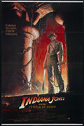 "Movie Posters:Adventure, Indiana Jones and the Temple of Doom (Paramount, 1984). One Sheet(27"" X 41""). Adventure. Directed by Steven Spielberg. Star..."