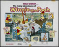 "Movie Posters:Animated, The Many Adventures of Winnie the Pooh (Buena Vista, R-1977). HalfSheet (22"" X 28""). Animated Comedy. Directed by John Loun..."