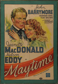 "Movie Posters:Musical, Maytime (MGM, 1937). One Sheet (25"" X 39""). Drama. Directed by Robert Z. Leonard. Starring Jeanette MacDonald, Nelson Eddy, ..."