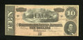 Confederate Notes:1864 Issues, T68 $10 1864. A hint of handling is noted. Choice Crisp Uncirculated....