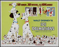 "Movie Posters:Animated, One Hundred and One Dalmatians (Buena Vista, R-1972). Half Sheet (22"" X 28""). Animated Adventure. Directed by Clyde Geronimi..."
