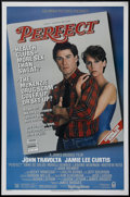 "Movie Posters:Drama, Perfect (Columbia, 1985). One Sheet (27"" X 41""). Drama. Directed by James Bridges. Starring John Travolta, Jamie Lee Curtis,..."