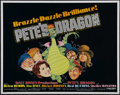 "Movie Posters:Animated, Pete's Dragon (Buena Vista, R-1977). Half Sheet (22"" X 28"").Fantasy Adventure. Directed by Don Chaffey. Starring Helen Redd..."