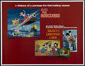 "Movie Posters:Animated, The Rescuers/Mickey's Christmas Carol (Buena Vista, R-1983). HalfSheet (22"" X 28""). Animated Adventure. Directed by Don Blu..."