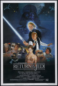 "Movie Posters:Science Fiction, Return of the Jedi (20th Century Fox, 1983). One Sheet (27"" X 41"").Style B. Science Fiction. Directed by Richard Marquand. ..."