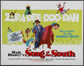 "Movie Posters:Animated, Song of the South (Buena Vista, R-1980). Half Sheet (22"" X 28"").Children's Drama. Directed by Harve Foster and Wilfred Jack..."