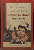 """Movie Posters:Musical, A Star is Born (Warner Brothers, 1954). One Sheet (24.5"""" X 39""""). Musical. Directed by George Cukor. Starring Judy Garland, J..."""