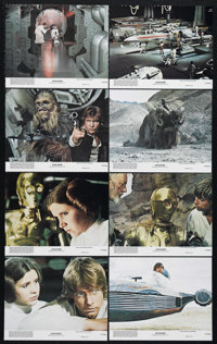 "Star Wars (20th Century Fox, 1977). Mini Lobby Card Set of 8 (8"" X 10""). Science Fiction. Directed by George L..."