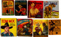 Big Little Book:Miscellaneous, Big Little Book Western/Jungle Adventure-Themed Group of 8(Whitman/Saalfield, 1934-36).... (Total: 8 Items)