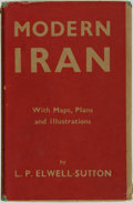 Books:Travels & Voyages, L. P. Elwell-Sutton. Modern Iran. London: George Routledge & Sons, [1942]....