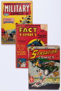 Golden Age (1938-1955):Miscellaneous, Comic Books - Assorted Golden Age Comics Group of 11 (Various Publishers, 1940s-50s) Condition: Average GD.... (Total: 11 Comic Books)