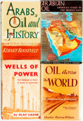 Books:Business & Economics, [Arabia, Oil Trade]. Group of Four Books. Various publishers anddates.... (Total: 4 Items)