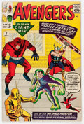 Silver Age (1956-1969):Superhero, The Avengers #2 (Marvel, 1963) Condition: GD/VG....