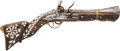 Long Guns:Muzzle loading, 19th Century Turkish Flintlock Blunderbuss Pistol / Carbine...