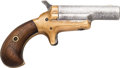 Handguns:Derringer, Palm, Colt Single Shot Derringer....