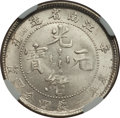 China:Kiangnan, China: Kiangnan. Empire 20 Cents CD 1901 MS64 NGC,...