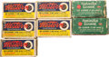 Ammunition, Lot of Seven Boxes of Luger Ammunition....