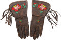 Western Expansion:Cowboy, 101 Ranch Marked Gauntlets....