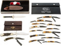 Edged Weapons:Knives, Lot of 3 Boxed Knife Sets....
