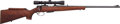 Long Guns:Bolt Action, J. G. Anschütz Model 1430-1434 Bolt Action Rifle With LeupoldVari-X 3-9 Compact Scope....