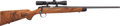 Long Guns:Bolt Action, Kimber Model 82 Bolt Action Sporting Rifle With Burris 3X-9X Scope....