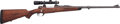 Long Guns:Bolt Action, .300 H&H Magnum Custom Mauser Bolt Action Rifle by Craig Klintworth with Telescopic Sight. ...
