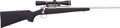 Long Guns:Bolt Action, Remington Model Seven Stainless Synthetic Bolt Action SportingRifle With a Leupold Vari-X III 2.5-8 Scope....