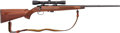 Long Guns:Bolt Action, Engraved Remington Model 541-S Custom Sporter Bolt Action RifleWith Leupold M8-4X Scope....