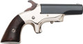 Handguns:Derringer, Palm, Unmarked Single Action Derringer....