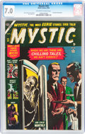 Golden Age (1938-1955):Horror, Mystic #23 (Atlas, 1953) CGC FN/VF 7.0 Off-white to white pages....