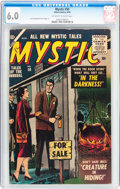 Silver Age (1956-1969):Horror, Mystic #50 (Atlas, 1956) CGC FN 6.0 Off-white to white pages....