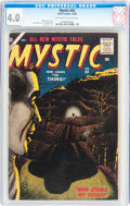 Silver Age (1956-1969):Horror, Mystic #54 (Atlas, 1956) CGC VG 4.0 Off-white to white pages....
