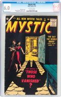 Golden Age (1938-1955):Horror, Mystic #58 (Atlas, 1957) CGC FN 6.0 Off-white pages....
