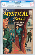 Silver Age (1956-1969):Horror, Mystical Tales #8 (Atlas, 1957) CGC VF- 7.5 Off-white to whitepages....