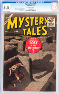Golden Age (1938-1955):Horror, Mystery Tales #44 (Atlas, 1956) CGC FN- 5.5 Off-white pages....